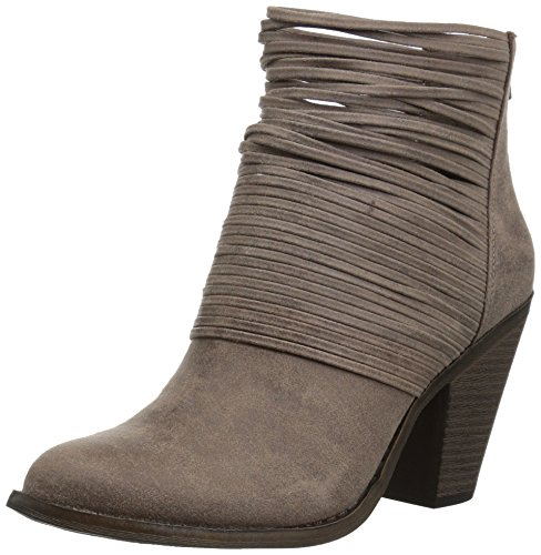 Pictures of Fergalicious Women's Wicket Ankle Bootie Brown 1