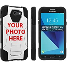 [Nakedshield] Custom Rugged Case For Galaxy J7 [2017] YOUR BABY PHOTO HERE [0] Shock Proof Armor Case [KickStand]