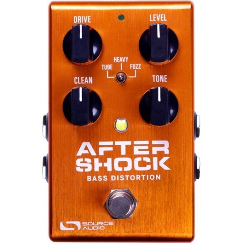 Source Audio One Series AfterShock Bass Distortion Bass Effect Pedal