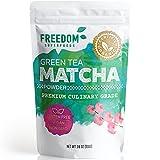 Organic Japanese Matcha Green Tea Powder - Premium Culinary Grade - Bright Green Color 3.6oz/ 100g Bulk