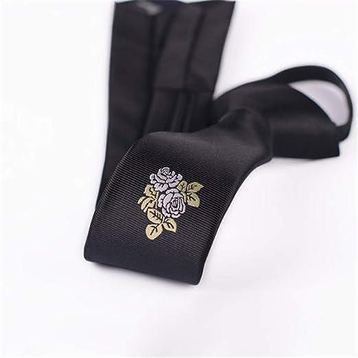 Ju-sheng Corbata Poliéster Textil Corbatas de los Hombres Flores ...