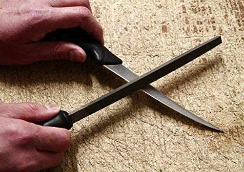 "Rrolson 2pc 150mm File Set Tools Metal Sharpen Sharping Flat and Half Round 6/"""