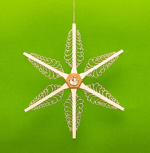 Star Christmas star window picture 18 cm Erzgebirge NEW