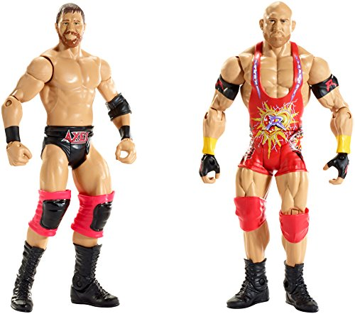 WWE Battle Pack Series #35: Curtis Axel vs. Ryback Action Figure (2-Pack) (Series 2 Wwe Toy)
