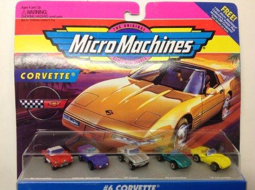 Micro Machines #6 Corvette - Convertible Chevrolet 1964