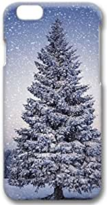 Beautiful Christmas Tree Snow iPhone 6 Case, 3D Handmade Skin Case Cover for iPhone 6 4.7 inch Screen