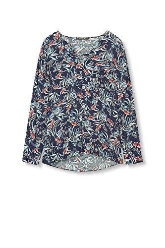 Bleu ESPRIT Collection 3 Blouse Femme Navy 66qtOw