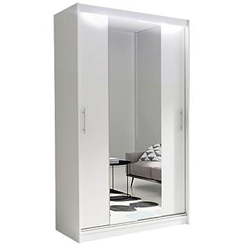 Armadio A 2 Ante Con Specchio.Ye Perfect Choice Nuovo Moderno Specchio Armadio 2 Ante