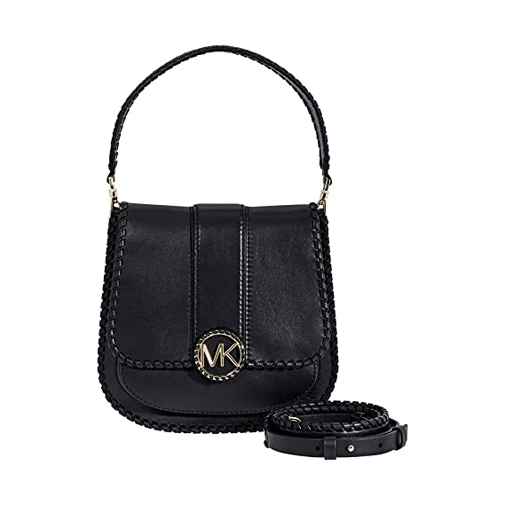 8aa09edd22b9 Image Unavailable. Image not available for. Colour  MICHAEL Michael Kors  Women s Lillie Medium Leather Shoulder Bag ...