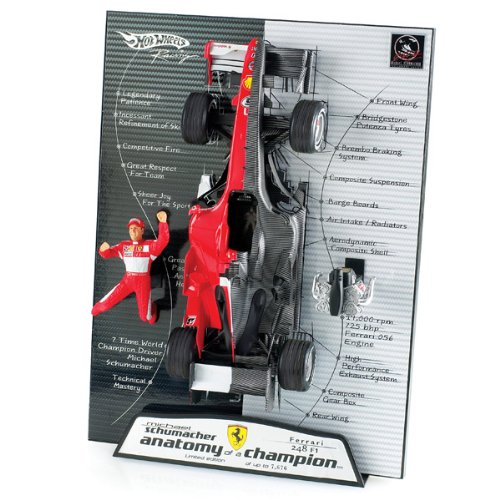 マテル ホットウィール 1/18 フェラーリ 248 2006 F1 M.シューマッハ 'Anatomy of a Campion' B0012606VO