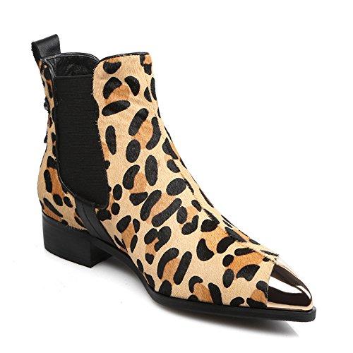 Nine SevenAnkle Boots - Botas mujer leopardo