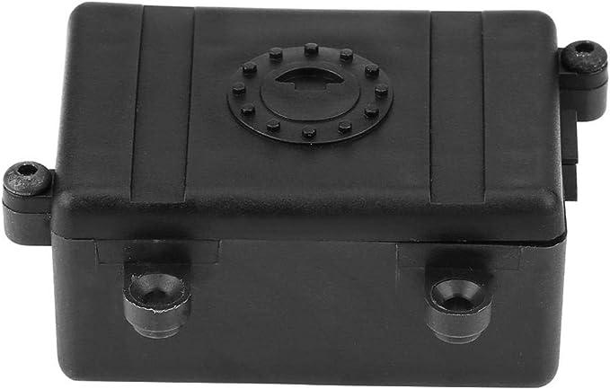 Caja del Receptor RC, 1/10 RC Crawler Accesorio de Caja de Receptor de Radio ESC para TRX-4 SCX10 90027 SCX10 II 90046 D90