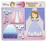 Melissa & Doug Disney Sofia the First Dress-Up Wooden Chunky Puzzle (11 pcs)