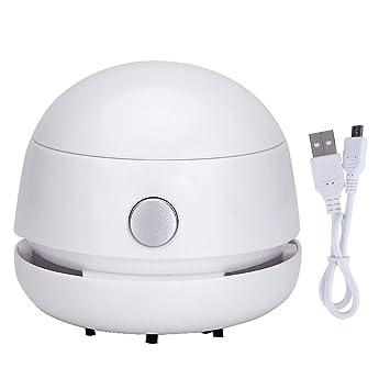 FineInno Mini Aspiradora Sin Cable Recargable Mesa Aspirador Tabletop Vacuum Cleaner para Oficina, Coche,