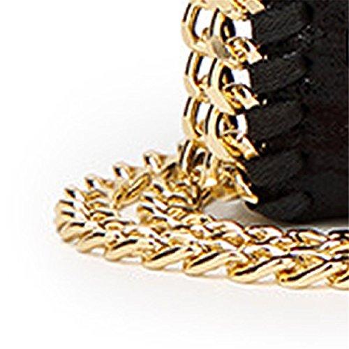 A Black para Sabarry hombro al mujer Bolso Style Cw1f8q1X