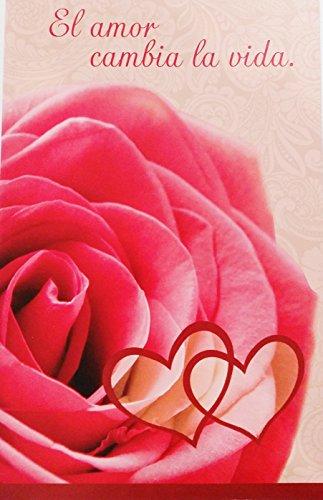 El amor cambia la vida / Love can change your life - Romantic Valentine's Day / San Valentin Greeting Card in Spanish (Husband Esposo Wife Esposa Boyfriend Novio Girlfriend Novia)