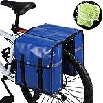 517e4T0e1JL. SS150 WILDKEN Borsa Laterale Doppia da Bici, Borsa Posteriore Bicicletta Unisex Adulto, Doppia Borsa per Il Porta Pacchi della…