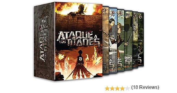 Ataque A Los Titanes Temporada 1 [DVD]: Amazon.es: Animación, Tetsuro Araki, Animación: Cine y Series TV