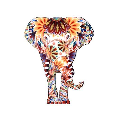 dezirZJjx Cute Animal Pin Badge, 1Pc Cat Elephant Pattern Badge Unisex Fashion Jewelry Brooch Pin 2#