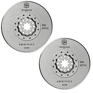 FEIN Power Tools 2 Pack of Genuine OEM Replacement Saw Blades # 63502174210-2PK