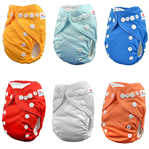 ALVABABY Newborn Diapers 12pounds Inserts product image