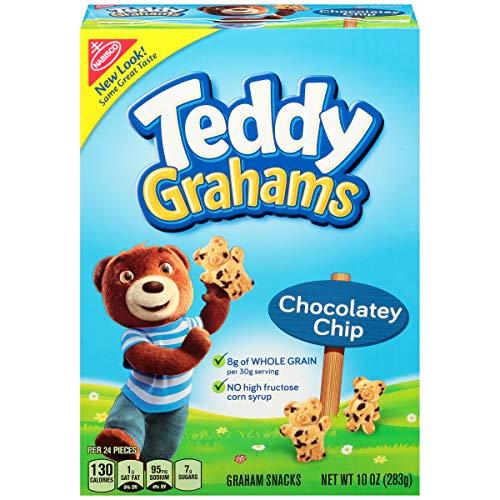 - Teddy Grahams Chocolate Graham Snacks, 10 Ounce