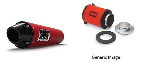 Filtro de aire de espuma de uni & HMF rojo performance-series Slip On euro