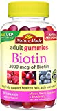 Best Nature Made Vitamins For Nails - Nature Made 3000 mcg Biotin Fruit Flavored Gummies Review
