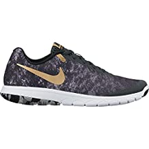 Nike Women's Flex Experience Rn 6 Prem Black/Metallic Gold/Anthracite Running Shoe 7 Women US