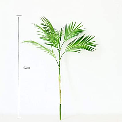 Image Unavailable. not available for. Color: 3ft Artificial Palm Tree Branches Plants Amazon.com: Tropical Fake