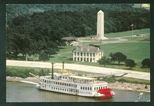 CREOLE QUEEN New Orleans Louisiana Paddlewheeler Continental Postcard (Creole Queen Boat)