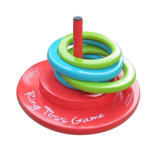 Pool Mate Floating Foam Ring Toss Game for Swimming Pools
