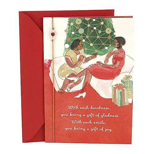 Search : Hallmark Mahogany Christmas Card for Woman (You are a Gift)