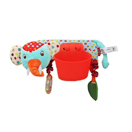 Sungpunet Cochecito de bebé asiento de coche juguete ...