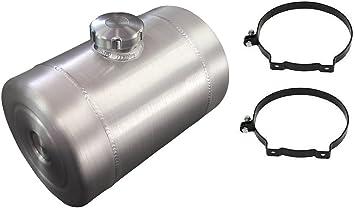 12 gal 10x36 Center Fill Spun Aluminum Gas Tank w// Site Gauge Buggy 1//2 NPT