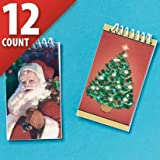 : Jolly St. Nick Notepads 12ct