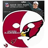 Siskiyou NFL Arizona Cardinals Game Day Face Temporary Tattoo