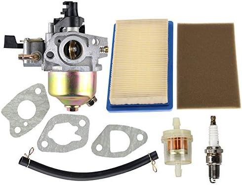 HIPA carburador + Tune Up Kit Filtro de aire y bujía para Honda ...