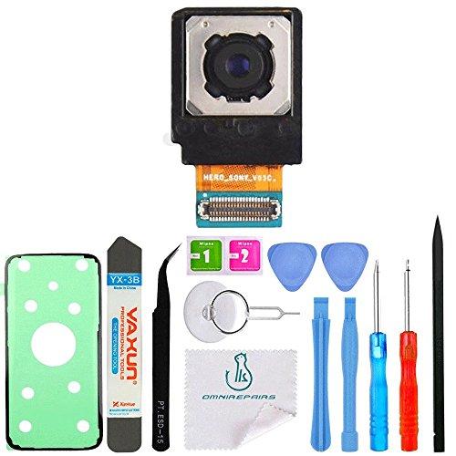 OmniRepairs Rear Back Camera Replacement Compatible for Samsung Galaxy S7 Model (G930A, G930P, G930T, G930V, G930AZ, G930VL, G930R6, G930R7, G930R4, G930U) with Adhesive and Repair Tools from OmniRepairs