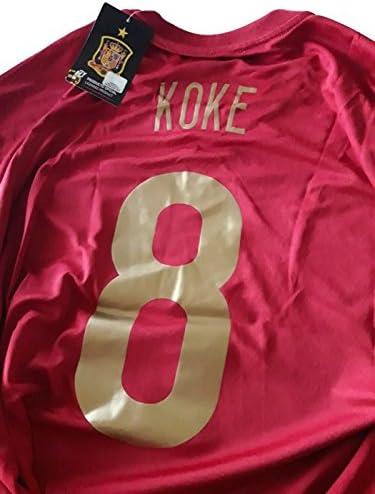 Camiseta R. KOKE Mundial Selección Española Original RFEF (XL): Amazon.es: Deportes y aire libre