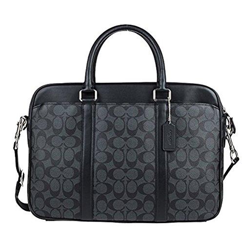 Coach Mens Shoulder Inclined Shoulder Handbag F54803 (Dark grey CQBK)