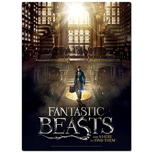WREBBIT 3D Fantastic Beasts Macusa Poster Puzzle (500 Pieces)