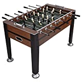53.5'' Foosball Soccer Competition Sized Table Football Indoor Arcade Game w/ 2 Balls