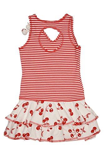 Kate Mack Girl's 7-16 Cha Cha Cherry Dress - Size 7, Red