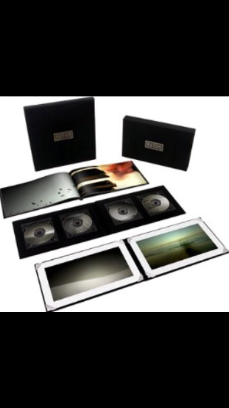 ULTRA Deluxe LIMITED Edition Nine Inch Nails Ghost\'s i-iv Box Set (i ...
