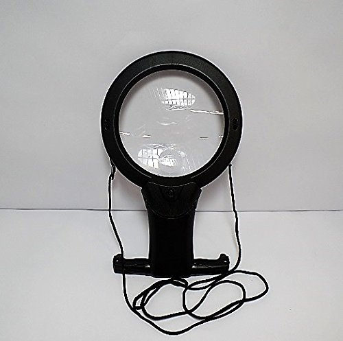 - 3-Way Deluxe Folding LED & LED Pocket Magnifier Set by FDC