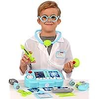 Kangaroo's 19 Pc Pretend Doctor Kit with Light Up X-Ray Machine
