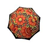 Designer Umbrella Windproof Auto Open Close - Folk