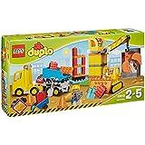 LEGO Duplo Big Construction Site Building Blocks for Ages 2-5, 67 Pieces | 10813