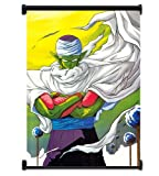 Dragon Ball Z Anime Piccolo Fabric Wall Scroll Poster (16x22) Inches. [WP]DragonBallZ-11